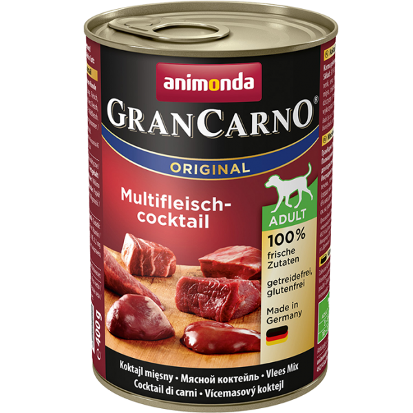 GranCarno Adult 400g Multifleischcocktail