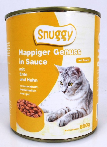 Snuggy Cat 800g Ente&Huhn
