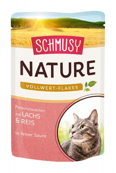 Schmusy Nature 100g Lachs&Reis