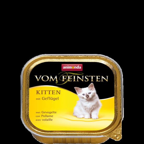 Cat Vom Feinsten Kitten 100g Geflügel