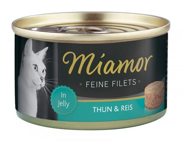 Miamor Feine Filets 100g Thunfisch&Reis