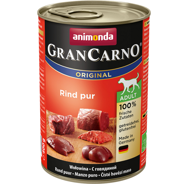 GranCarno Adult 400g Rind pur