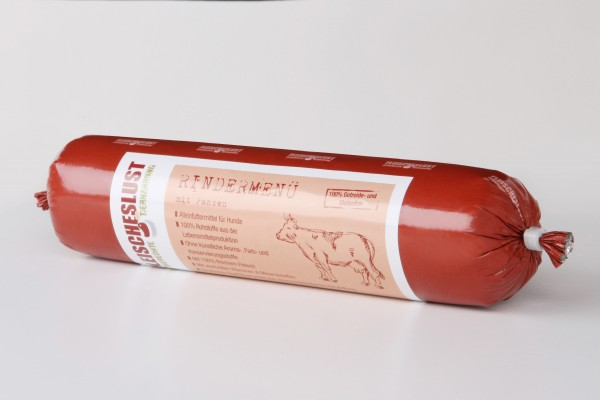 Fleischeslust Rindermenü 200g