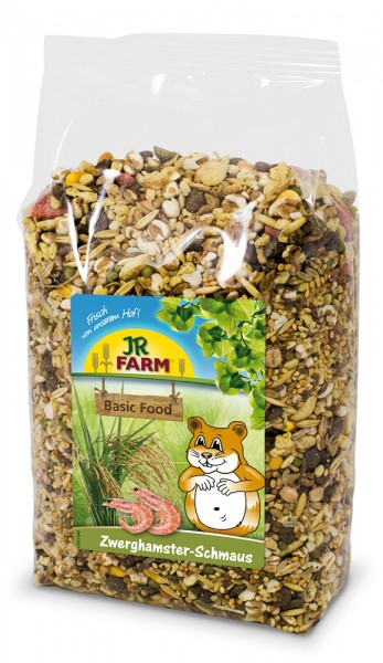 JR-Farm Schmaus 600g Zwerghamster