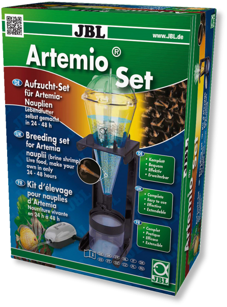 JBL ArtemioSet, Artemia zucht