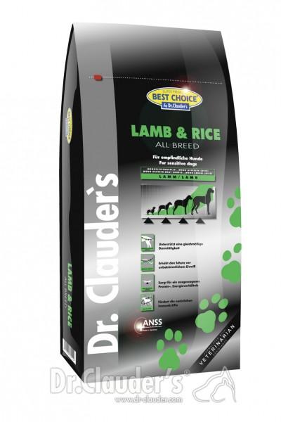 Dr.Clauders Lamb&Reis 12,5kg All breed