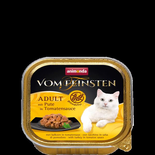 Cat Vom Feinsten Adult 100g Pute in Tomatensauce