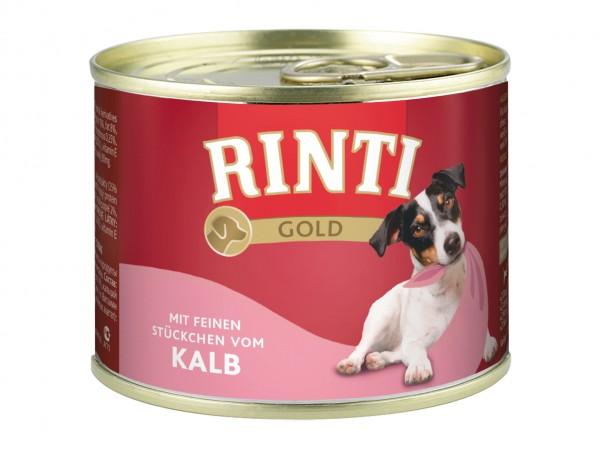 Rinti Gold 185g Kalbsstücke
