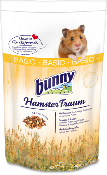 Bunny HamsterTraum basic 600g