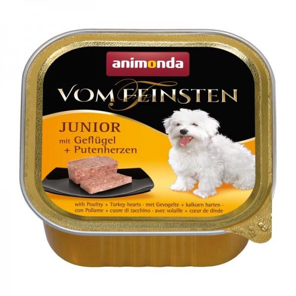 AM Dog V.F. Junior 150g Geflügel&Putenherzen