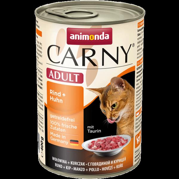 Carny Adult 400g Rind&Huhn
