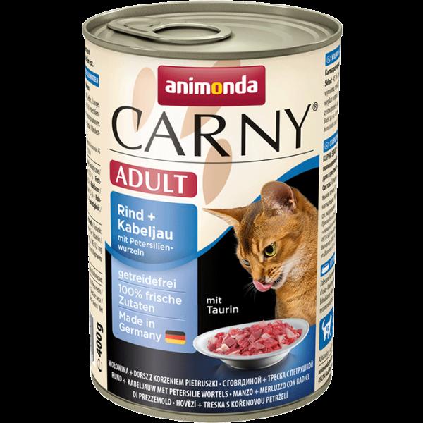 Carny Adult 400g Rind&Kabeljau