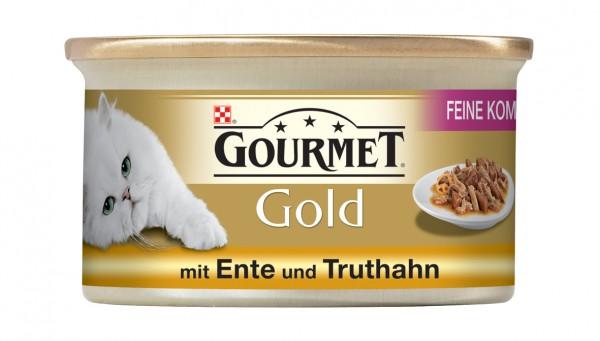 GOURMET Gold Feine Komposition - mit Ente und Truthahn 85g