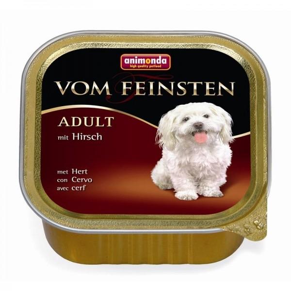 AM Dog V.F. Adult 150g Hirsch