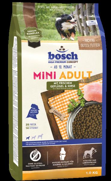 Bosch Mini Adult 1kg Geflügel&Hirse
