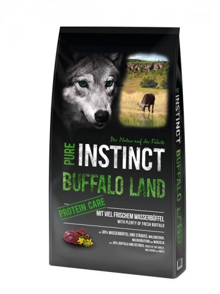 PURE INSTINCT 12kg Büffel & Strauß