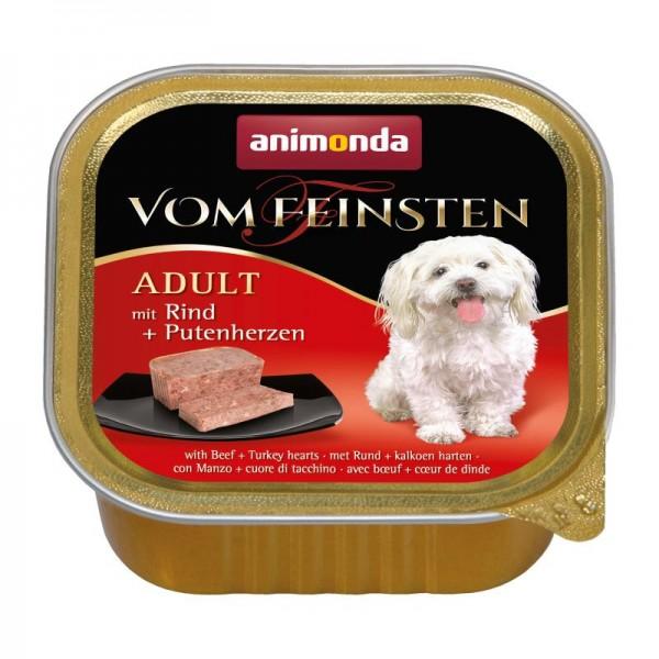 AM Dog V.F. Adult 150g Rind&Putenherzen