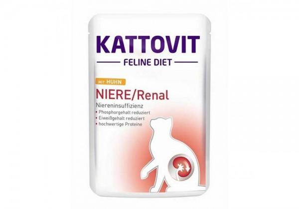 Kattovit Feline Diet 85g Niere/Renal mit Huhn