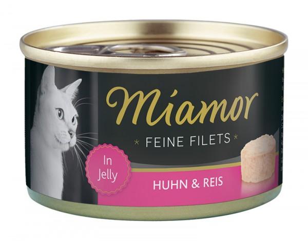 Miamor Feine Filets 100g Huhn&Reis