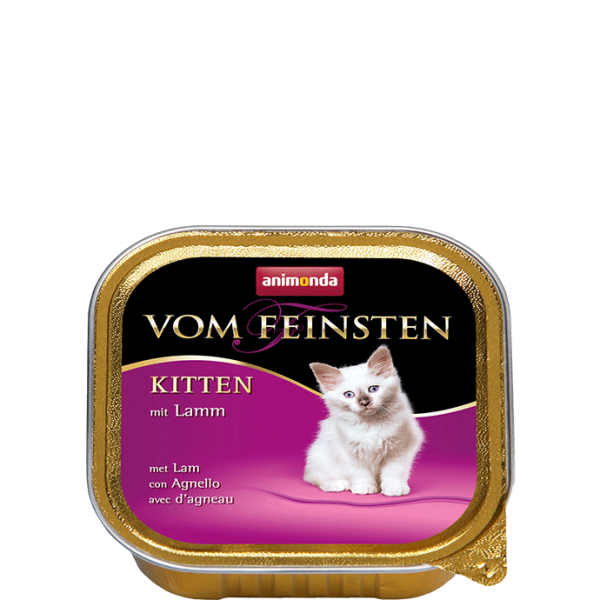 Cat Vom Feinsten Kitten 100g Lamm