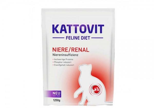 KATTOVIT Niere/Renal Katzendiätfutter 1,25kg