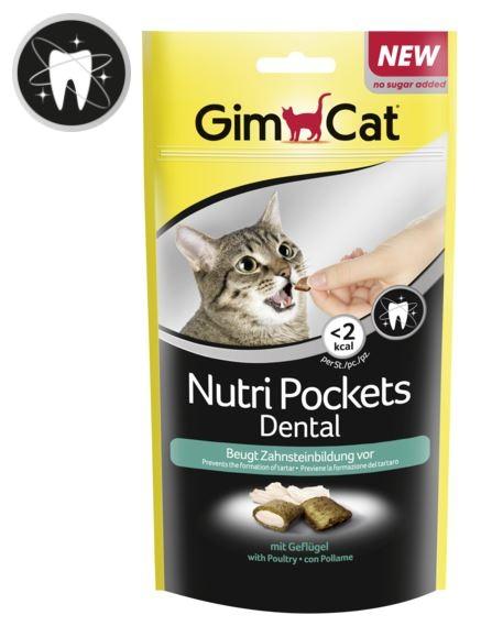 GimCat Nutri Pockets Dental 60 g