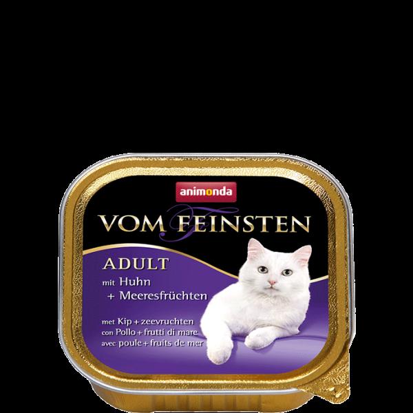 Cat Vom Feinsten Adult 100g Huhn&Meeresfrüchten