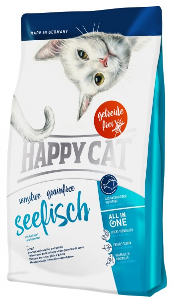 Happy Cat Sensitive 300g Seefisch