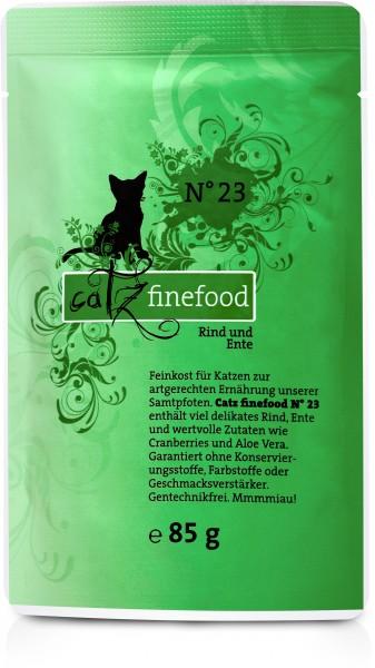 Cat 85g No.23 Rind&Ente