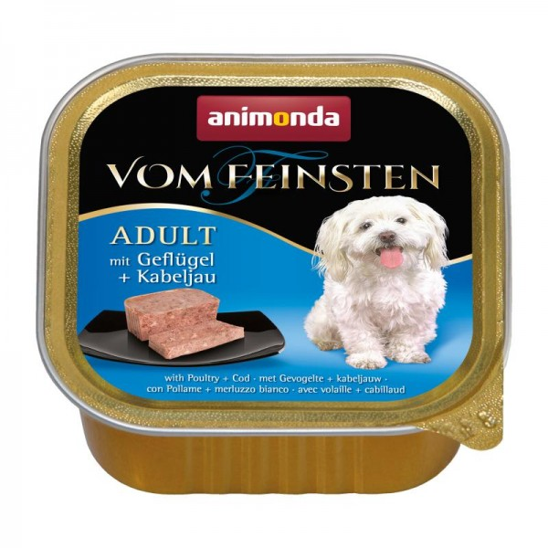 Animonda Vom Feinsten Adult Geflügel + Kabeljau 150g