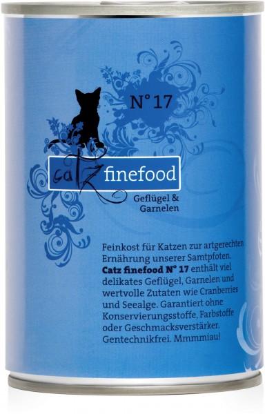 Catz finefood N° 17 - Geflügel & Garnelen - 400g