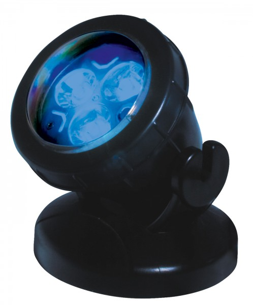SöLL LED Pond P3 LED 3x3W/12V blau
