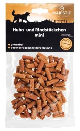 MAJESTIC 70g Huhn+Rindstückchen mini