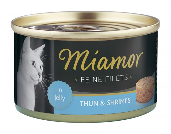 Miamor Feine Filets 100g Thunfisch&Shrimps