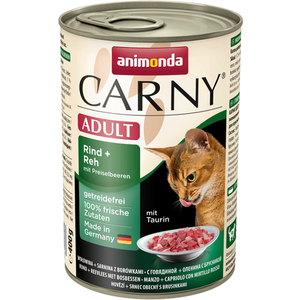 Carny Adult 400g Rind&Reh