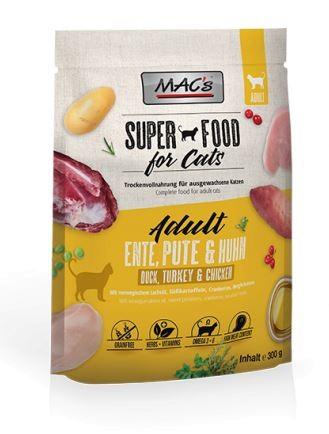 MACs Cat ADULT ENTE, PUTE, HUHN 300 G