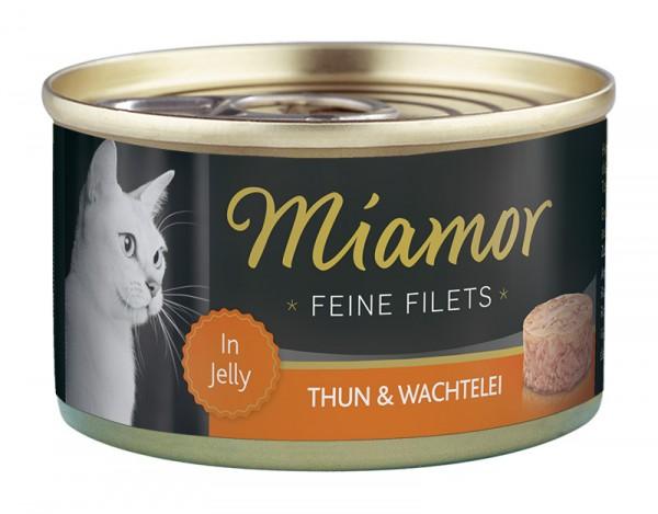 Miamor Feine Filets 100g Thunfisch&Ei