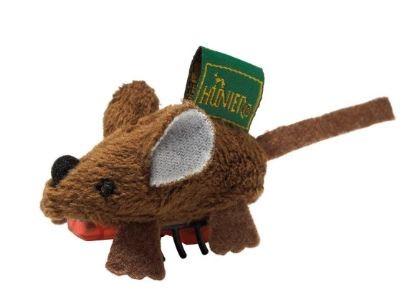 Hunter Katzenspielzeug Running Maus 5 cm, braun