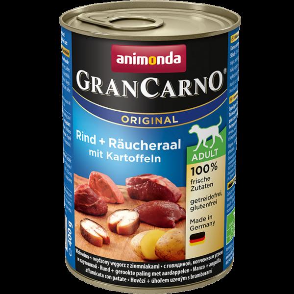 GranCarno Adult 400g Rind&Räuchaal