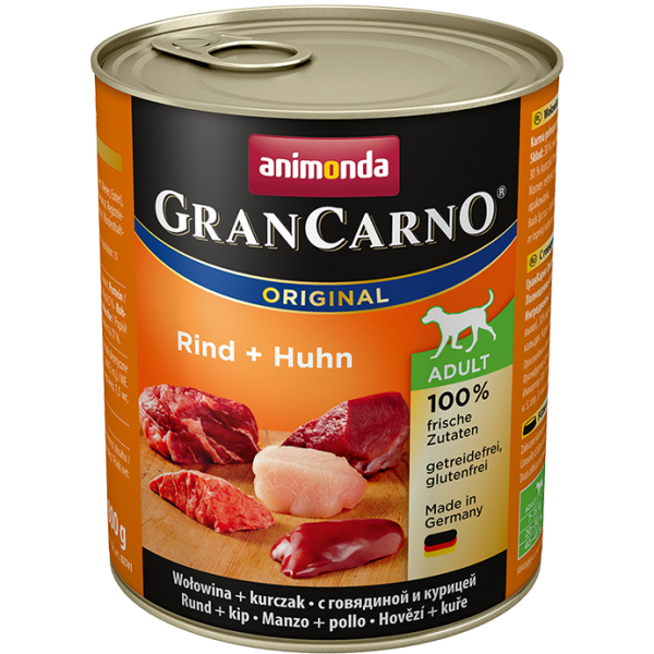 GranCarno Adult 800g Rind&Huhn