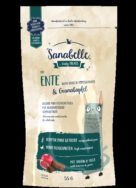 Sanabelle Ente & Granatapfel Cat Sticks 55g