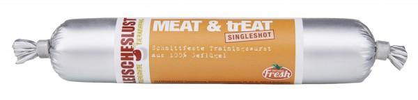 Fleischeslust Singleshot 80g Meat&Treat Geflügel