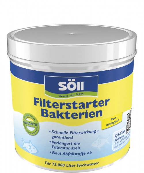 SöLL FilterStarterbakterien 500g