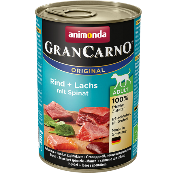 GranCarno Adult 400g Rind&Lachs