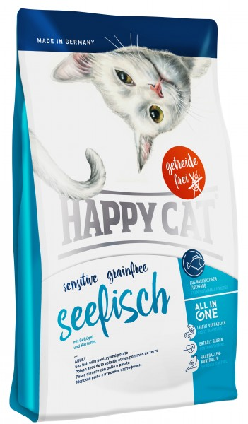 Happy Cat Sensitive 1,4kg Seefisch