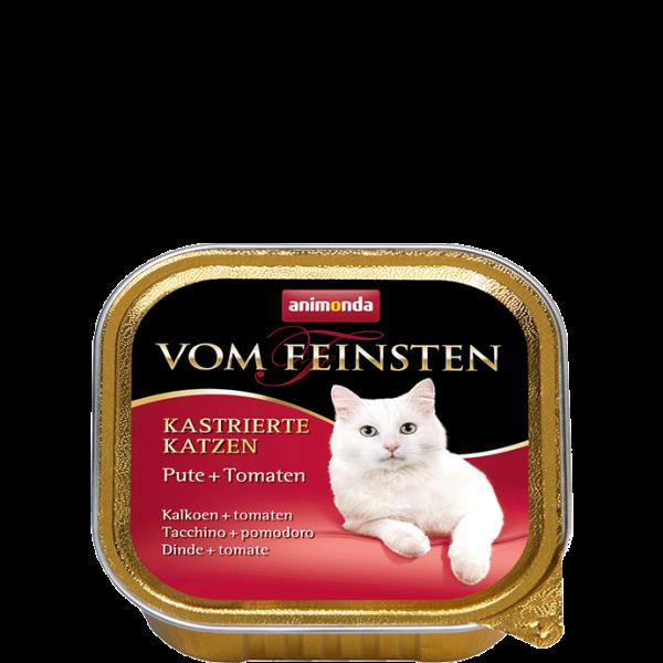 Cat Vom Feinsten Kastrat 100g Pute&Tomate