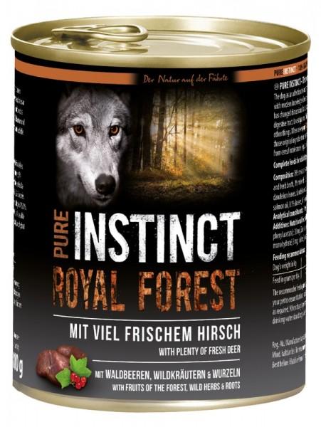 PURE INSTINCT 800g Hirsch