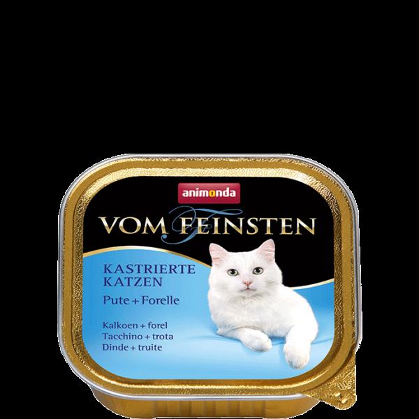 Cat Vom Feinsten Kastrat 100g Pute&Forelle