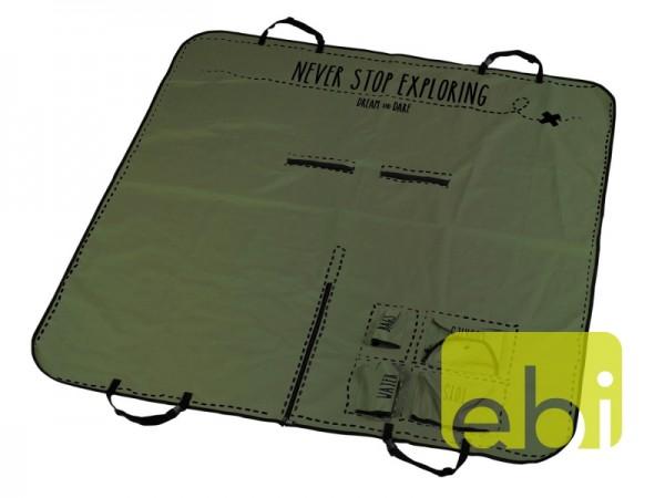 D&D Schonbezug 150x145cm grün Boarding Pass
