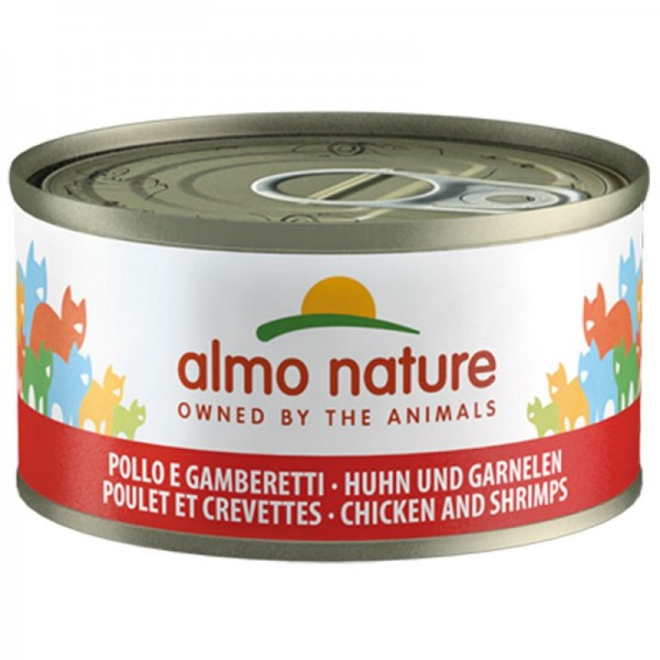 Almo Nature Cats Legend 70g Huhn&Garnele